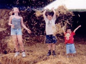 Katie, Jonah and Aiden Road Trip, Summer 2000