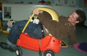 Portrait of a safe driver? Kutz Camp, Summer 2007