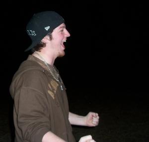 Jonah LOVED the bonfire in Mississippi! February 2007