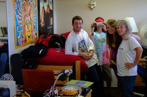 Moving in Day @ UB (Aug 2008). The beginning of six wonderful months.