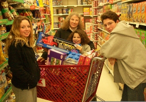 Dec 2004 ... shopping to give away the year's tzedakah collection.