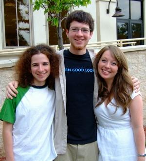 Darn Good Lookin' ... all 3 of them! Graduation, June 2008