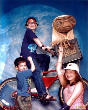 Jonah, Aiden & Katie Disney World 1999