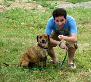 Charlie meets Aiden June 2010
