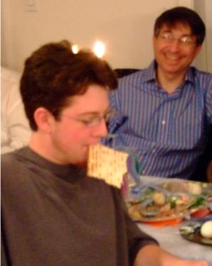 Jonah & Uncle Jeffrey Passover 2007