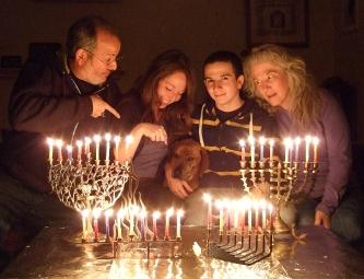 Hanukkah 2011 with Charlie!