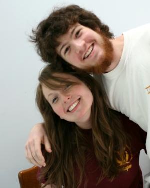 Jonah and Katie June 2008