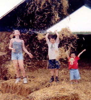Amazing Maize Maze! August 1999