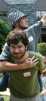 Jonah's vistory lap atop Kyle Moore PGT Summer Camp, Aug 2008