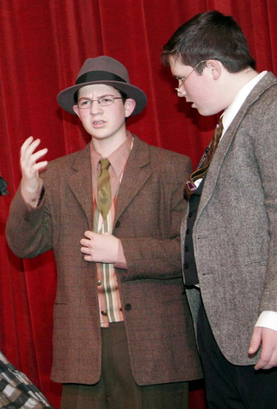 "Jonah and Ryan ""The Hadleyburg Project"" Jan 2007"