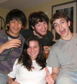 Mason, Alex, Jonah and Will Hair 2008