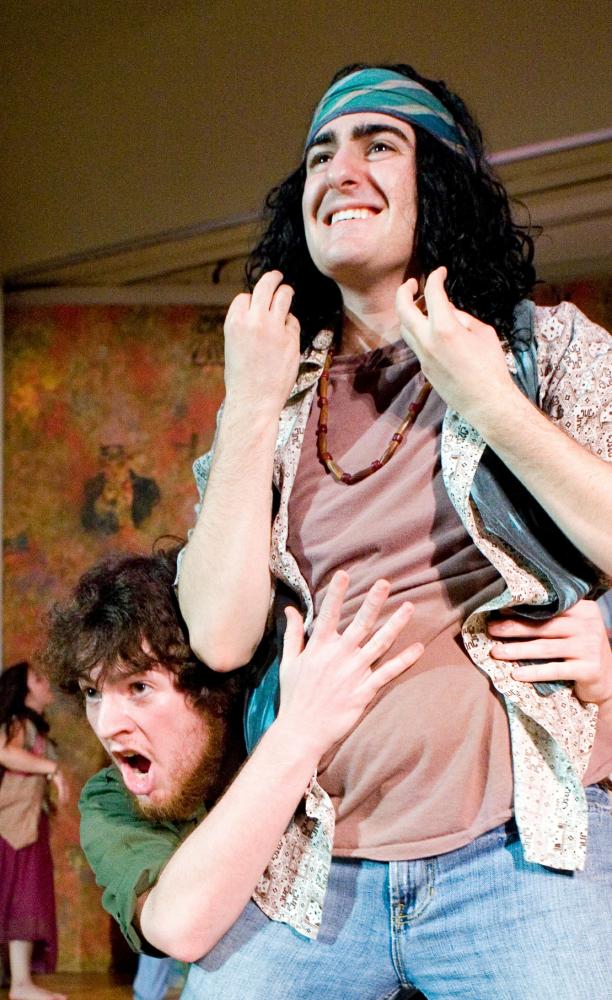 """Jonah and Ross """"Hair"""" (Jun 2008)"""