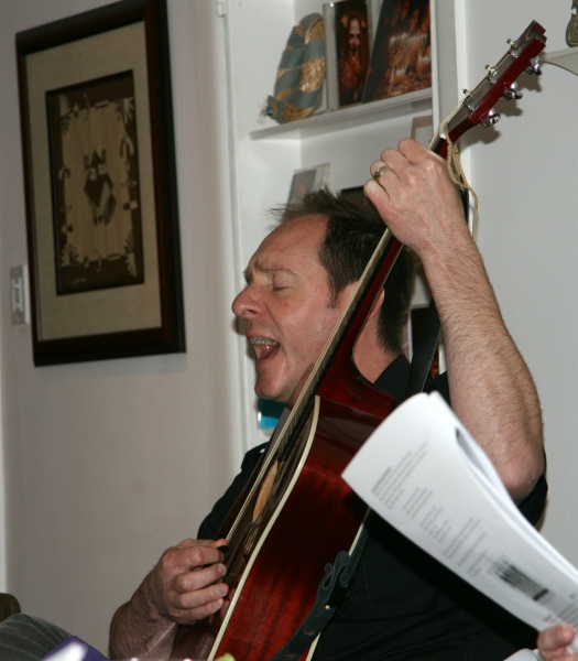 """Dan sings """"Redemption Song"""" at our family seder (March 2013)"""