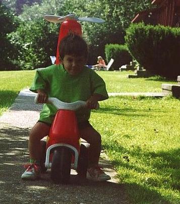 Little Dan on patrol in his early-Kutz days