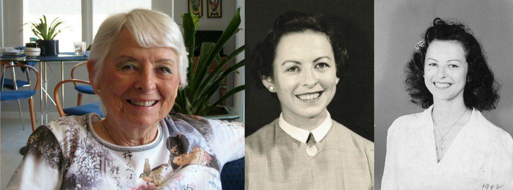 Ida Dreskin: (l-r) 2008, 1957 and 1942